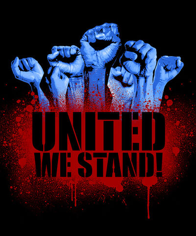 """Marcel """"SEL"""" Blanco, 'United We Stand', 2020"""