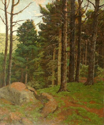 Ben Foster, 'Dusk Amidst the Pines', ca. 1910