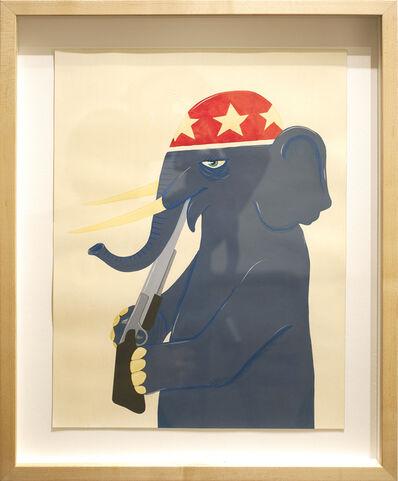 Ed Templeton, 'Political Animal', 2014