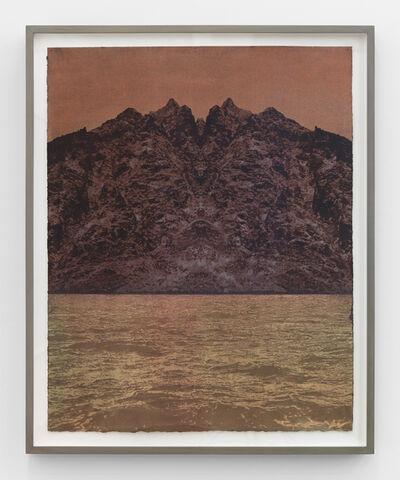 Saul Becker, 'Red Mirror', 2014