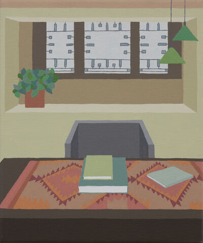 Zsofia Schweger, 'Office at the Frank Lloyd Wright Home and Studio in Oak Park, Illinois', 2019