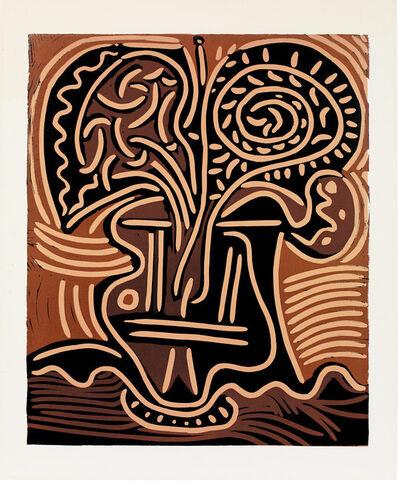 Pablo Picasso, 'Bouquet dans un vase', 1959