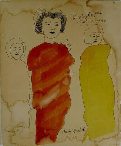 Andy Warhol, 'Kyoto', 1956