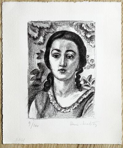 Henri Matisse, 'Jeune Fille aux boucles brunes ', 1924