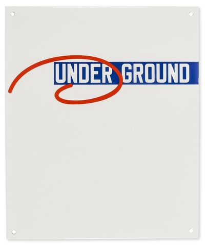 Lawrence Weiner, 'Under Ground (from 15 For 150)', 2013
