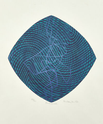 Stanley William Hayter CBE, 'Emerald', 1987
