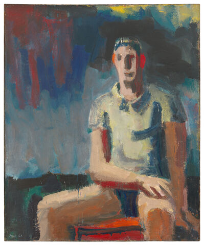 David Park, 'Man in a T-Shirt', 1958