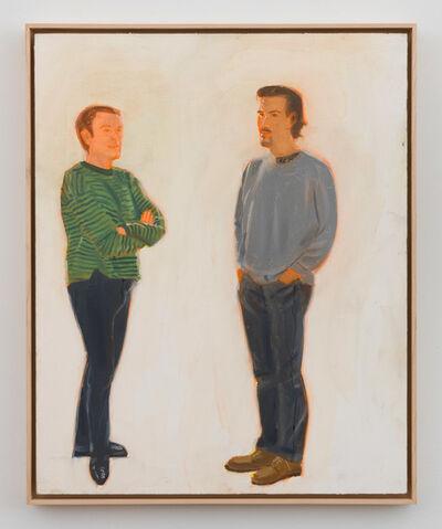 Alex Katz, 'Jack and Marcelo', 1993