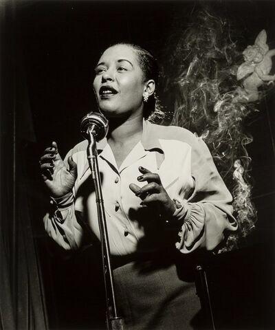 Herman Leonard, 'Billie Holiday, New York City', 1949