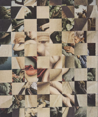 Ellen Wallenstein, 'Van der Weyden / Benton', 2014
