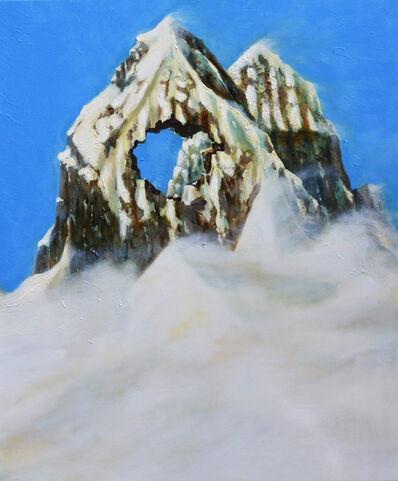 Thomas Braida, 'Non tutte le montagne vengono con il buco (Mount Cuguluf)', 2015