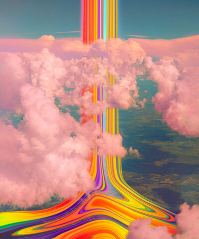 Niko Christian, 'Crayons and Clouds', 2021