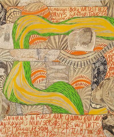 Geneviève Seillé, 'Mapa ed veneyis #3', 2005
