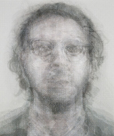 Doug Keyes, 'Chuck Close B&W', 2014