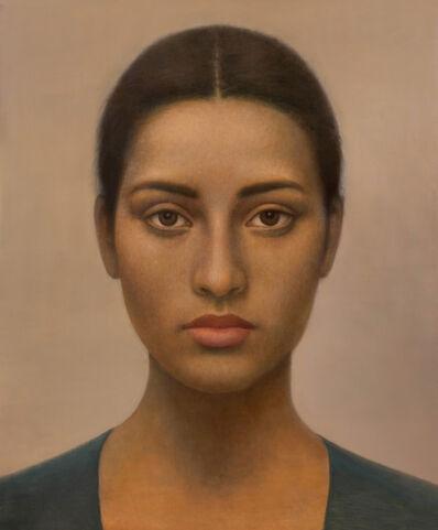 Alberto Gálvez, 'Verde Egipcio (Nefer)', 2020