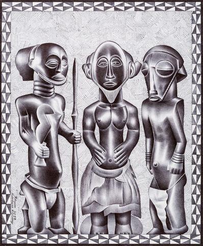 Tsham, 'Les trois sages', 2017