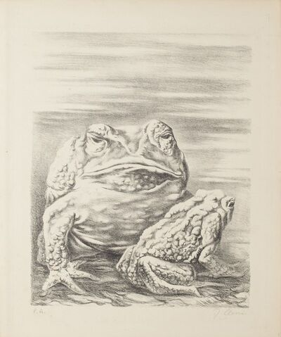Fabrizio Clerici, 'The Frogs', 20th Century