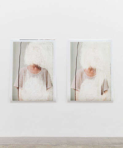 Amie Dicke, 'T-shirt and Wire 1 (Diptych) ', 2016