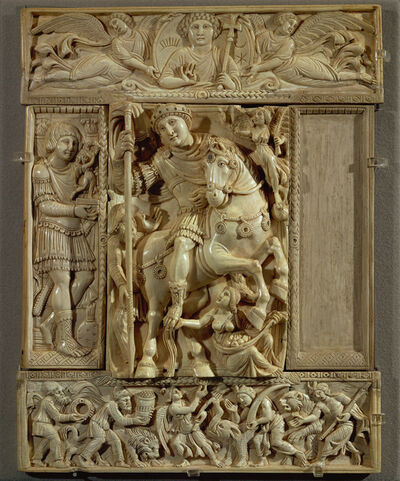 'Empereur triomphant, dit Ivoire Barberini (The Emperor Triumphant, called the Barberini Ivory)'