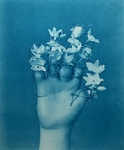 Robert Langham III, 'Flowered Fingers', 2021