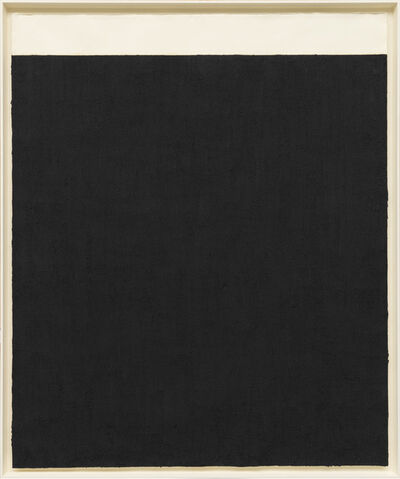 Richard Serra, 'Elevational Weights, Black Matter', 2010