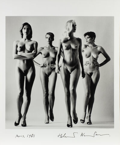 Helmut Newton, 'They Are Coming II', 1981