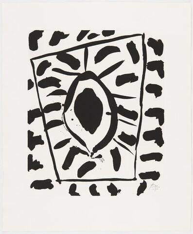 Robert Motherwell, 'Los Angeles Sun (State II)', 1980