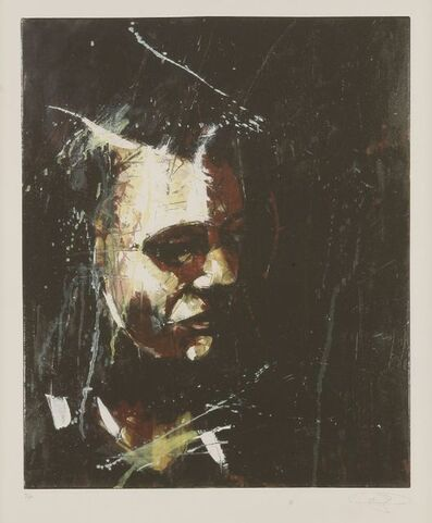 Guy Denning, 'Untitled (A Man Looking Left)', 2009