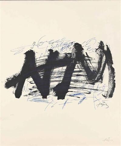 """Antoni Tàpies, 'Cartel """"Nocturn Matinal""""', 1970"""