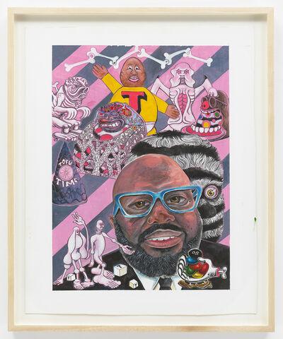 Trenton Doyle Hancock, 'EMIT Magazine Cover Art', 2014