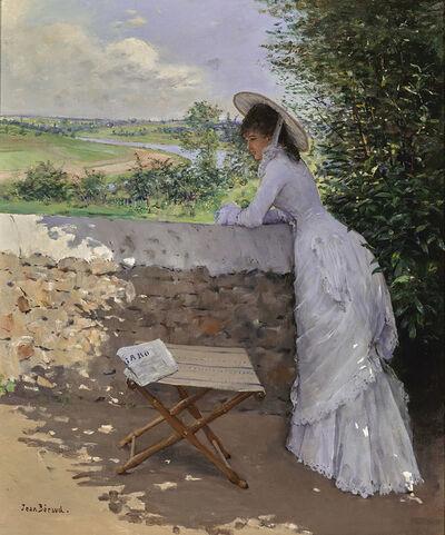 Jean Béraud, 'Un Figaro de rêve', ca. 1875