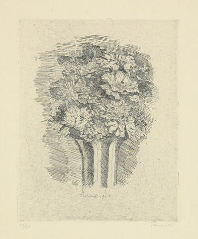 Giorgio Morandi, 'Zinnie', 1930