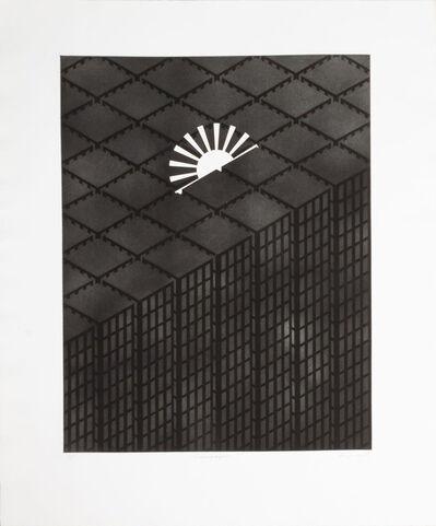 Patrick Hughes, 'Sunscarpers', 1980