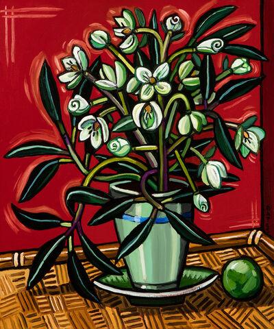 David Bates, 'Lenten Rose I', 2015