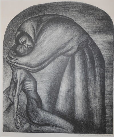 José Clemente Orozco, 'Franciscano (National Preparatory School)', 1929