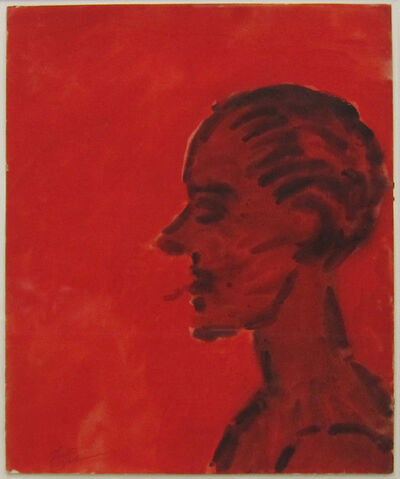 Lester Johnson, 'Head', ca. 1959