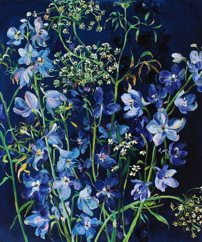 Krista Johnson, 'Immersed In Blue', 2019