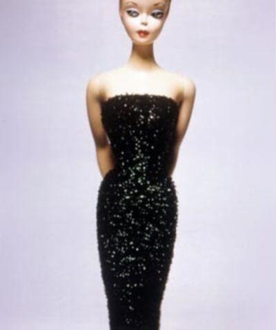 David Levinthal, 'Barbie (Black evening dress)', 1998