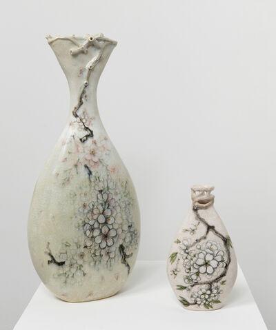 Heesoo Lee, 'Blossom Vase (large) & Blossom Vase III', 2016