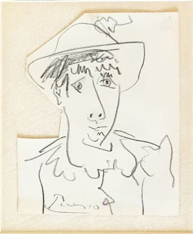 Pablo Picasso, 'Figure with a hat ', ca. 1966