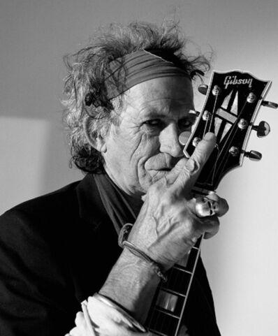 Lorenzo Agius, 'Keith Richards with Guitar', 2008