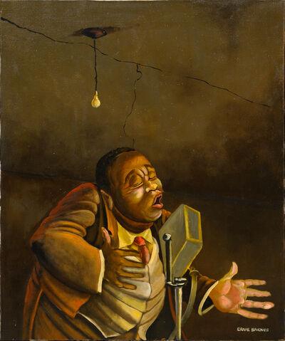Ernie Eugene Barnes, 'Singer', ca. 1966