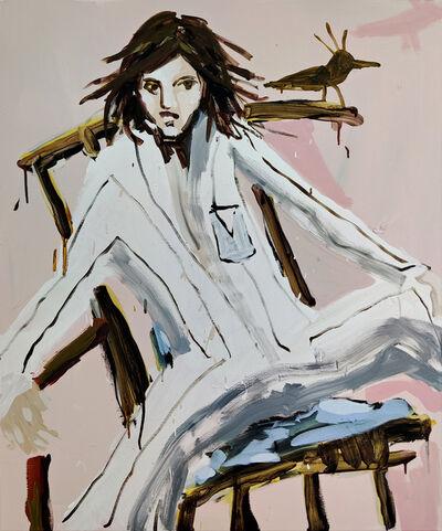 Mie Olise Kjærgaard, 'Balancing on a Chair', 2021