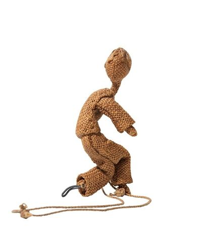 Maria Lai, 'Kid with rope', 1952/'54
