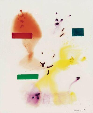 Hans Hofmann, 'Frolocking', 1965