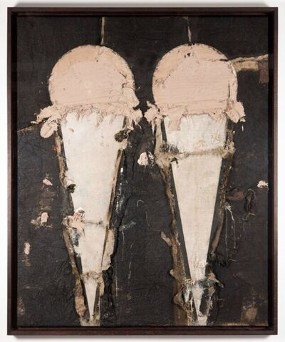 Manolo Valdés, 'Two chocolate ice cream II', 2008