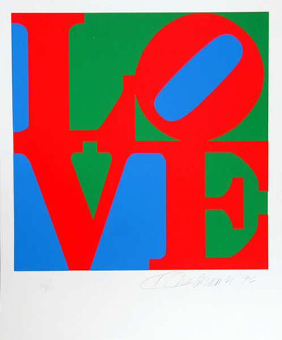 Robert Indiana, 'Book of Love 7', 1996