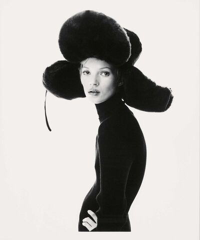 Steven Klein, 'Girl with hat', 1993