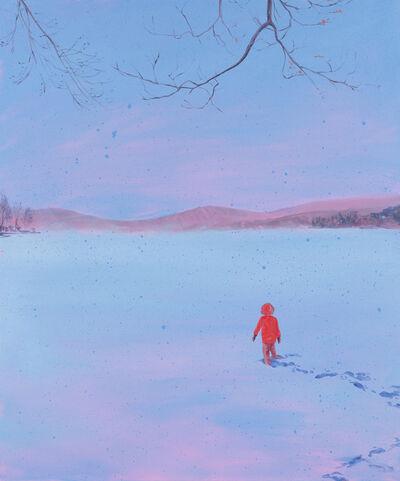 Sebastian Blanck, 'Pink Haze / Snow Dusk', 2018
