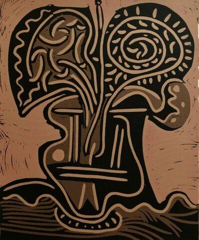 Pablo Picasso, 'Le Vase de fleurs', ca. 1980